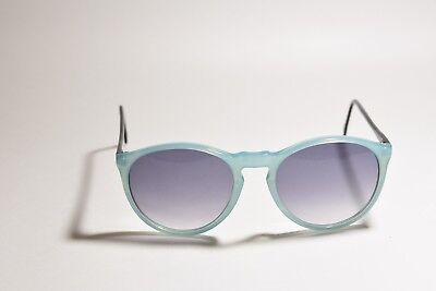 INDO OPTICA RETRO SAMBA CELES SUNGLASSES LIGHT BLUE PEARL MADE IN SPAIN (Samba Sunglasses)