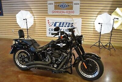 2016 Harley-Davidson Softail  2016 Harley Davidson Softail Fat Boy S 110 Screaming Eagle Trade In NO -