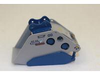 GAZ Evans GF-54 Indeco HP 2000 Hammer 1:50 mit Schnellwechsler   NEU mit OVP