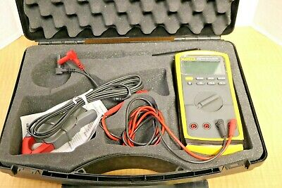 Fluke 87 V True Rms Multimeter With Fluke I 200 Ac Current Clamp