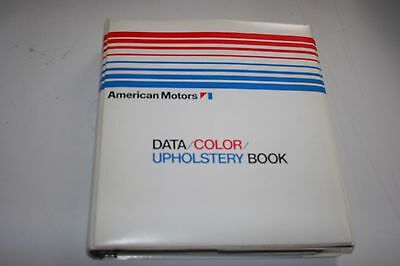 RARE 1972 AMERICAN MOTORS CORP. DEALER SALESMAN DATA BOOK