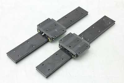 2 Thk Shw17 Caged Ball Linear Motion Guide Rails 4 Blocks 230mm Long Ap-c
