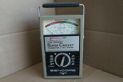 Sencore Tf46 Portable Super Cricket Transistor Fet Tester