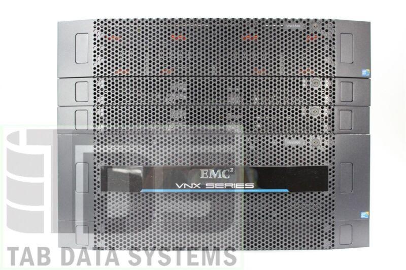 "EMC VNX5500 3.5"" Unified System, 5x VX-VS10-600 600GB 10K SAS HDD"