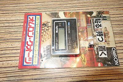 Japanisch kleine Digital Uhr Omron Quartz > Sammelstück
