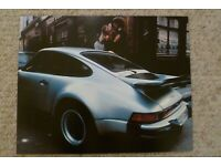 Awesome L@@K 1976 Porsche 911 Coupe /& Targa Showroom Advertising Poster RARE!
