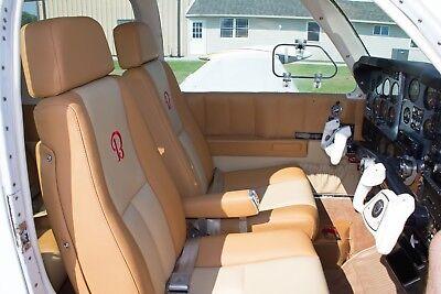 Beechcraft Bonanza or Debonair (4-seat) custom leather interior