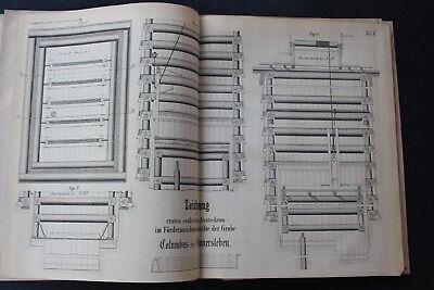 1859 Fachbericht Zeitschrift Bergbau / Braunkohle Provinz Sachsen 27 Seiten 2