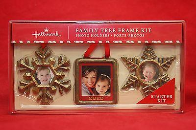 Hallmark Keepsake Family Tree 3 Frames Christmas Starter Kit 2012 NIB Ornament