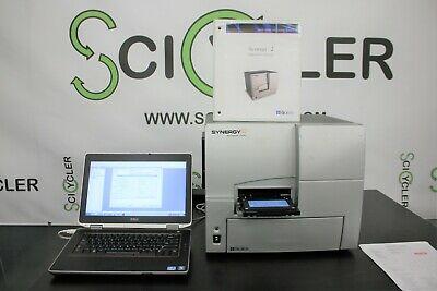 Turn-key Biotek Synergy 2 Microplate Reader With Laptop Warranty Sfp
