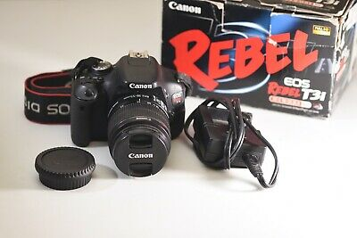 Canon EOS Rebel T3i DSLR Camera & EF-S 18-55mm IS II Lens