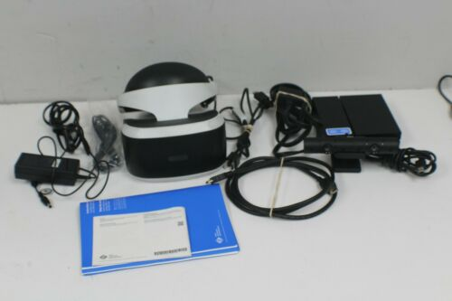 SONY PLAYSTATION VR (PSVR) CUH-ZVR1 HEADSET BUNDLE FOR PS4 Pre-owned