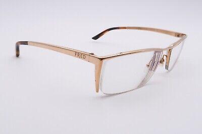 FRED ST MORITZ Rx Eyeglasses Frames N1 002 Gold Brown 140 France (St Moritz Glasses)