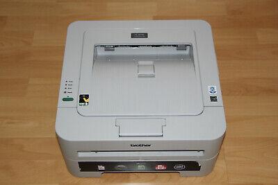Brother HL-2130 Monochrome Laserdrucker Drucker nur 2010 Seiten RECHNUNG TOP  (Rechnung Drucker)