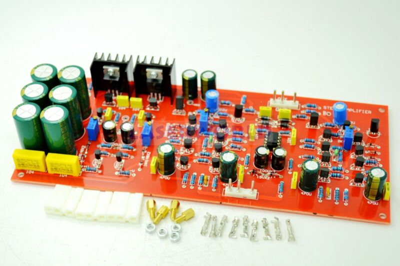 Pure DC ME-128 Class A Preamplifier Finished Board Without Tone