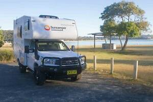 Rare find! Suncamper Sherwood 2017 4x4 Twin Thornleigh Hornsby Area Preview