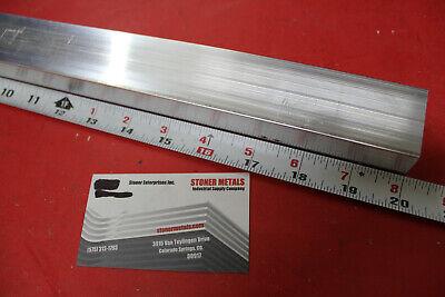 1 X 1-12 Aluminum 6061 Flat Bar 20 Long T6511 Solid Mill Stock