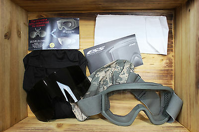 New US Army Genuine Issue ESS Profile NVG Unit Issue Goggles, ACU Foliage Green