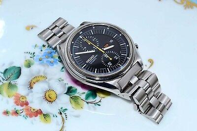 Rare Vintage Seiko 6138-3002 Day Date Chronograph Automatic Watch Original