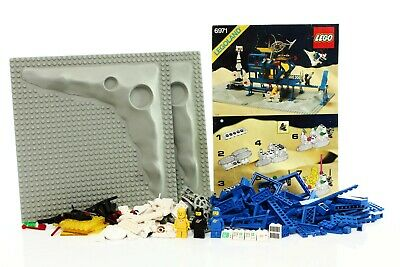 Lego Classic Space Set 6971 Inter-Galactic Command Base 100% complete+instr.1984