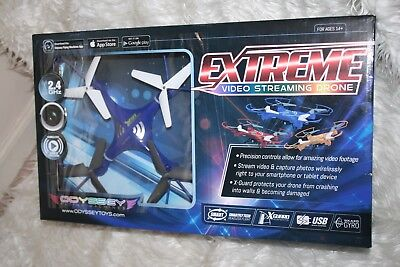 NIB! Extreme Video Streaming Drone, 14+ Odyssey Toys works w/ iPhone Android