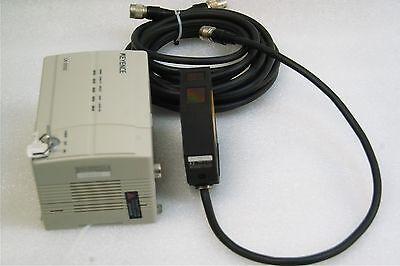 Keyence Lk-2000lk-030 Laser Displacement Sensor Cable Tested Working