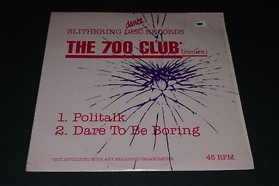 The 700 Club Politalk   Dare To Be Boring 1986 Electronic Synth Pop Fast Ship