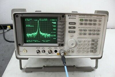 Hp Agilent 8562a Spectrum Analyzer 9 Khz -26 50 Ghz Calibrated Refurbished
