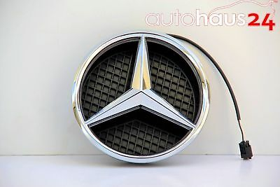 MERCEDES BENZ W204 C CLASS C300 GENUINE ILLUMINATED STAR GRILL STAR 2009-2014 OE