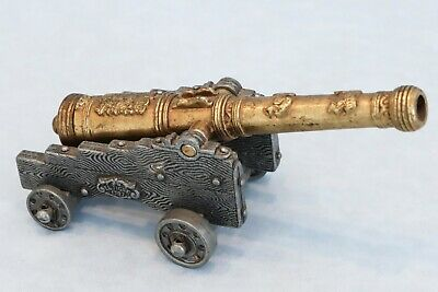 Vintage Denix Miniature Model 1797 El Tigre Spanish Cannon