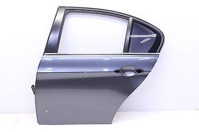 07 - 11 BMW 335i REAR DRIVER SIDE DOOR SHELL PANEL OEM GRAPHITE METALLIC A22