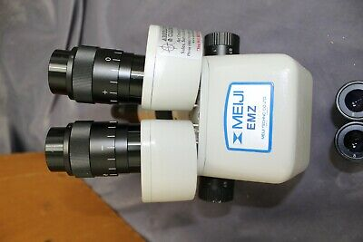 Refurbished Meiji Emz-5 Microscope W10x Swf Eyepieces