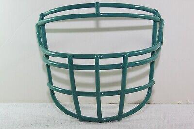Football Helmet Face Guard - Riddell Game Football Helmet Facemask face guard New RJOP-DW TEAL Discontinued