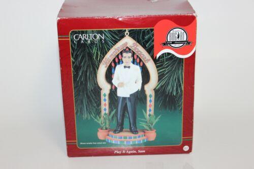 Carlton Cards HUMPHREY BOGART Casablanca Play It Again Sam Christmas Ornament