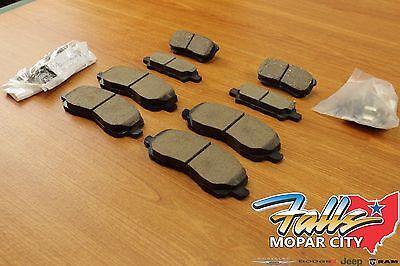 (2007-2017 Jeep Compass Patriot Front & Rear Brake Pad Set Mopar OEM)
