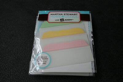 Martha Stewart Home Office Avery Note Tabs 3 X 1 12 48 Count Model 16481