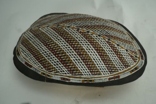 Vintage Painted Turtle Shell Art
