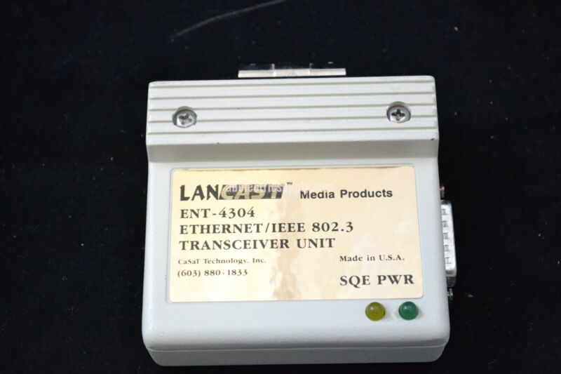 Lancast ENT-4304 Ethernet/IEEE 802.3 Transceiver Unit
