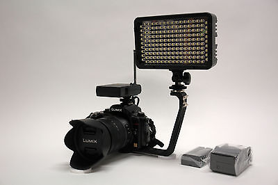 Pro Xb-12 Led Ag Hd Video Light F970 For Panasonic Dvx200...