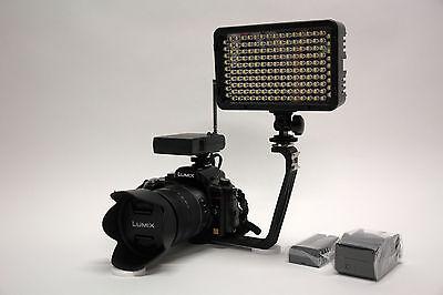 Pro Xb-12 Led Ag Hd Video Light F970 For Panasonic Dvx200...