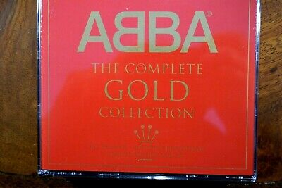 ABBA - The Complete Gold Collection  - CD, VG