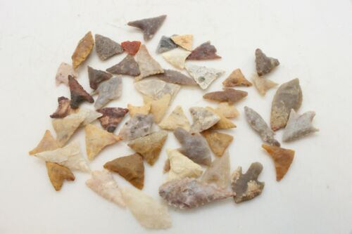 Bag of 50 Neolithic Saharan Points - 8,000 - 6,000 Years Old