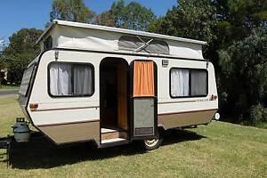 1987 Viscount Pop Top Caravan Dernancourt Tea Tree Gully Area Preview