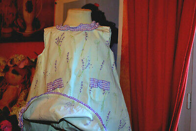 Robe+blomer baby dior 12 mois la lavande  vert tendre et mauve