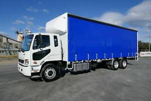 2019 Fuso Fighter 2427 6x2 Curtainsider South Murwillumbah Tweed Heads Area Preview