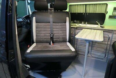 VW Transporter T5 T6 double sliding swivel base. M1 in vehicle body tested!