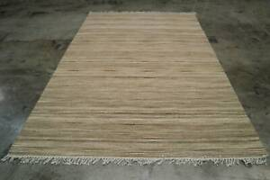 GUM001 WOOL AND COTTON HAND KNOTTED KILIM RUG 190X280CM