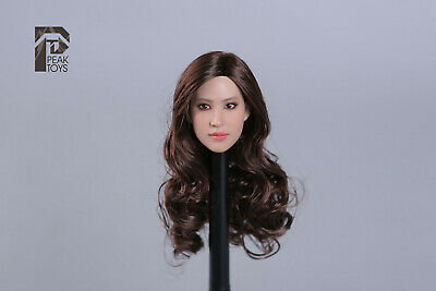 1/6 Peak Toys Asian Beauty Star head for Hot toys, phicen, Traid Figures, PK004 - Asian Toys
