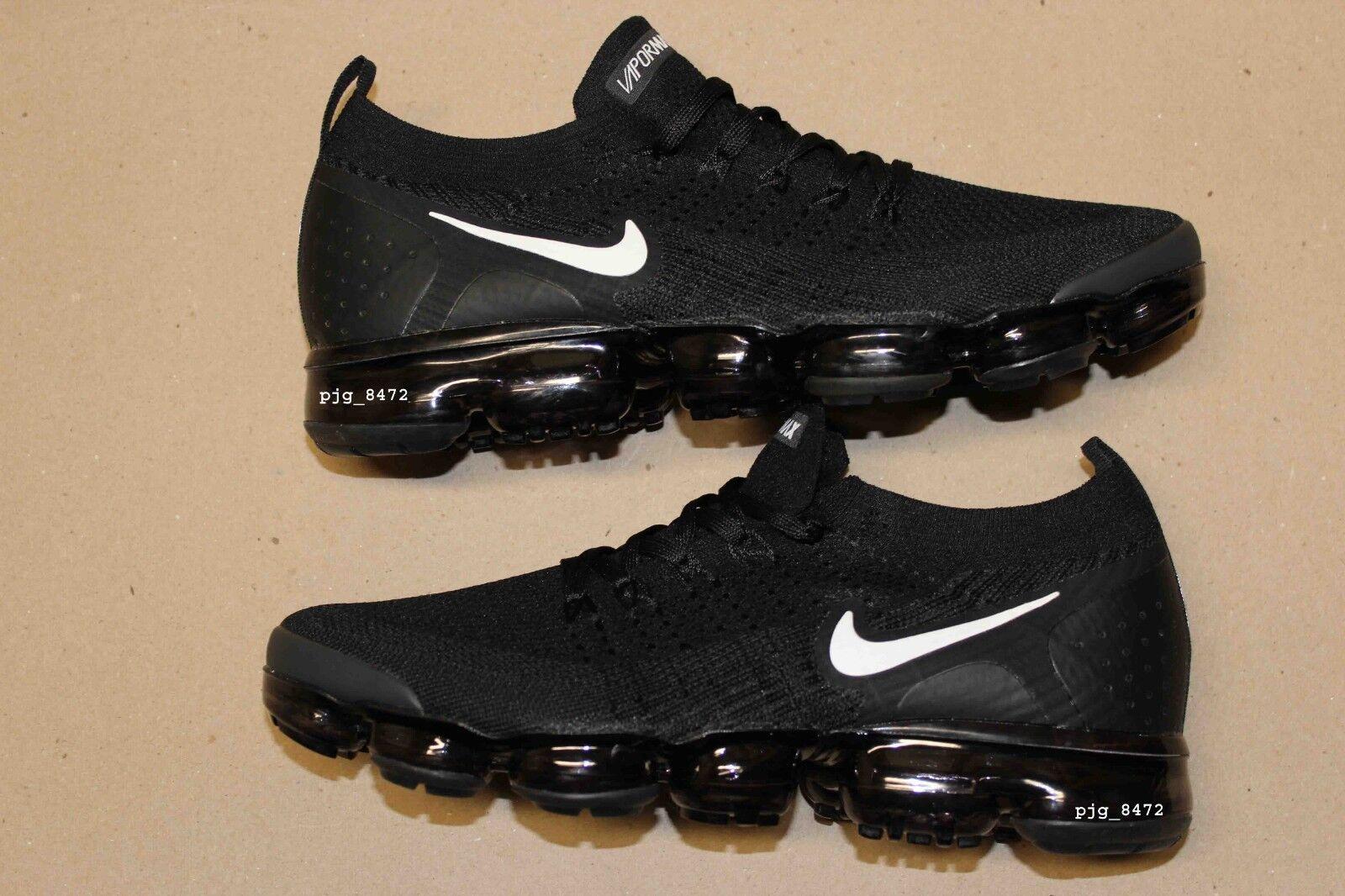 best website 8f31e 6986a Men's Nike Air VaporMax Flyknit 2 v2 Size 11 Black White ...
