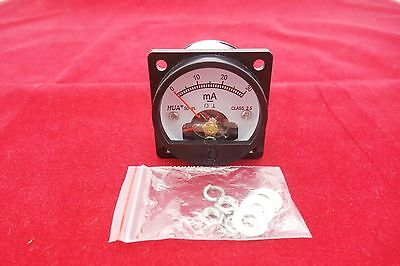 1pc Dc 0-30ma Analog Ammeter Panel Amp Current Meter So45 Directly Connect